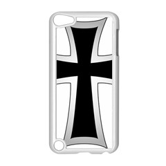 Cross Of The Teutonic Order Apple Ipod Touch 5 Case (white) by abbeyz71