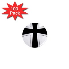 Cross Of The Teutonic Order 1  Mini Magnets (100 Pack)  by abbeyz71