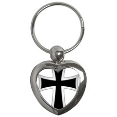 Cross Of The Teutonic Order Key Chains (heart)  by abbeyz71