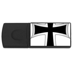 Cross Of The Teutonic Order Usb Flash Drive Rectangular (4 Gb) by abbeyz71
