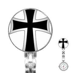 Cross Of The Teutonic Order Stainless Steel Nurses Watch by abbeyz71