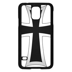 Cross Of The Teutonic Order Samsung Galaxy S5 Case (black) by abbeyz71