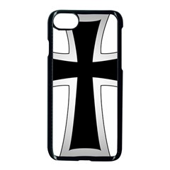 Cross Of The Teutonic Order Apple Iphone 7 Seamless Case (black) by abbeyz71