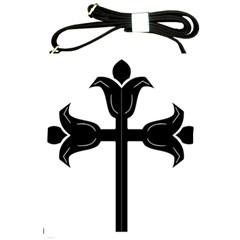 Caucasian Albanian Cross Shoulder Sling Bags by abbeyz71