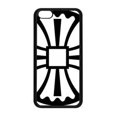 Canterbury Cross  Apple Iphone 5c Seamless Case (black) by abbeyz71