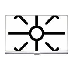 Coptic Cross Business Card Holders by abbeyz71
