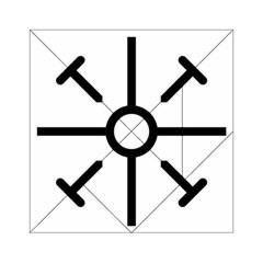 Coptic Cross Acrylic Tangram Puzzle (6  X 6 ) by abbeyz71