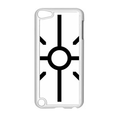 Coptic Cross Apple Ipod Touch 5 Case (white) by abbeyz71
