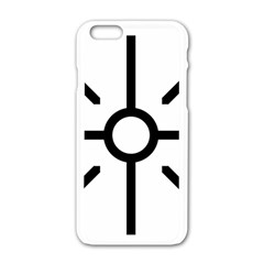 Coptic Cross Apple Iphone 6/6s White Enamel Case by abbeyz71
