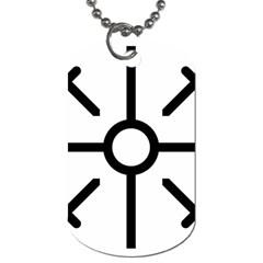 Coptic Cross Dog Tag (one Side) by abbeyz71