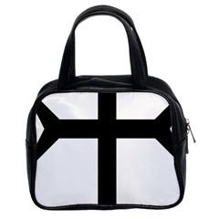 Eastern Syriac Cross Classic Handbags (2 Sides) by abbeyz71