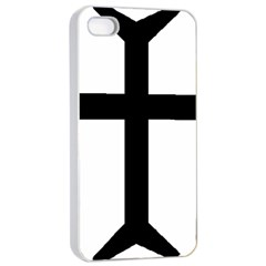 Eastern Syriac Cross Apple Iphone 4/4s Seamless Case (white) by abbeyz71