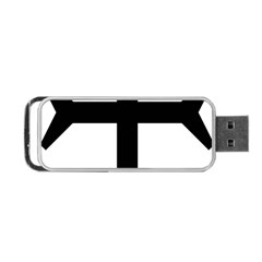 Eastern Syriac Cross Portable Usb Flash (two Sides) by abbeyz71