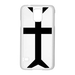 Eastern Syriac Cross Samsung Galaxy S5 Case (white) by abbeyz71
