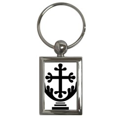 Anuradhapura Cross Key Chains (rectangle)  by abbeyz71