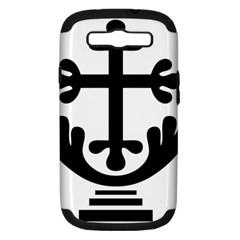 Anuradhapura Cross Samsung Galaxy S Iii Hardshell Case (pc+silicone) by abbeyz71