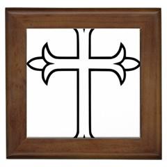 Western Syriac Cross Framed Tiles