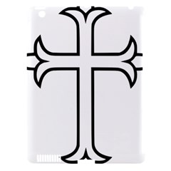 Western Syriac Cross Apple Ipad 3/4 Hardshell Case (compatible With Smart Cover) by abbeyz71