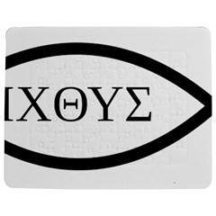 Ichthys  jesus Christ, Son Of God, Savior  Symbol  Jigsaw Puzzle Photo Stand (rectangular) by abbeyz71