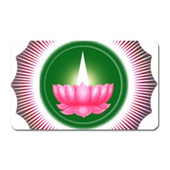 Ayyavazhi Symbol  Magnet (rectangular) by abbeyz71