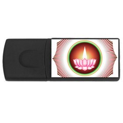 Ayyavazhi Symbol  Usb Flash Drive Rectangular (4 Gb) by abbeyz71
