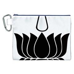 Ayyavazhi Symbol  Canvas Cosmetic Bag (xxl) by abbeyz71