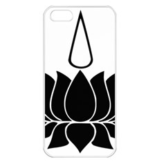 Ayyavazhi Symbol  Apple Iphone 5 Seamless Case (white) by abbeyz71