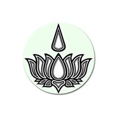 Ayyavazhi Symbol Magnet 3  (round) by abbeyz71