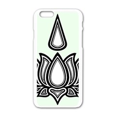 Ayyavazhi Symbol Apple Iphone 6/6s White Enamel Case by abbeyz71
