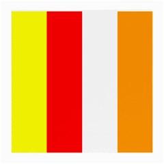 International Flag Of Buddhism Medium Glasses Cloth (2 Side) by abbeyz71
