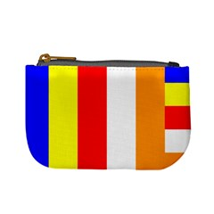 International Flag Of Buddhism Mini Coin Purses by abbeyz71