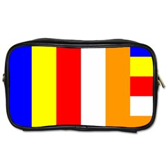 International Flag Of Buddhism Toiletries Bags by abbeyz71