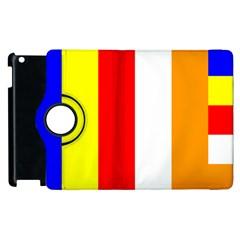 International Flag Of Buddhism Apple Ipad 3/4 Flip 360 Case by abbeyz71