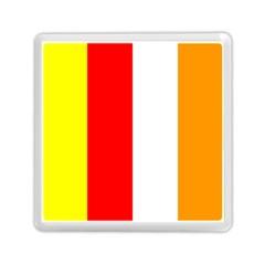 International Flag Of Buddhism Memory Card Reader (square)  by abbeyz71