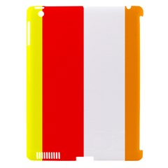 International Flag Of Buddhism Apple Ipad 3/4 Hardshell Case (compatible With Smart Cover) by abbeyz71