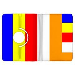 International Flag Of Buddhism Kindle Fire Hdx Flip 360 Case by abbeyz71
