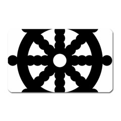 Dharmacakra Magnet (rectangular) by abbeyz71
