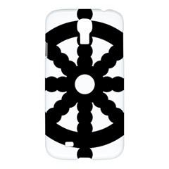 Dharmacakra Samsung Galaxy S4 I9500/i9505 Hardshell Case by abbeyz71