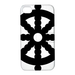 Dharmacakra Apple Iphone 4/4s Hardshell Case With Stand by abbeyz71
