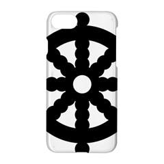 Dharmacakra Apple Iphone 7 Hardshell Case by abbeyz71