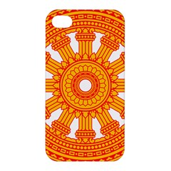 Dharmacakra Apple Iphone 4/4s Hardshell Case by abbeyz71