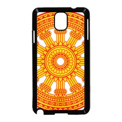 Dharmacakra Samsung Galaxy Note 3 Neo Hardshell Case (black) by abbeyz71