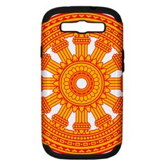 Dharmacakra Samsung Galaxy S Iii Hardshell Case (pc+silicone) by abbeyz71