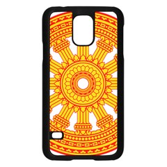 Dharmacakra Samsung Galaxy S5 Case (black) by abbeyz71