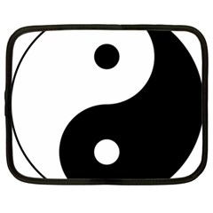 Yin & Yang Netbook Case (xl)  by abbeyz71