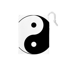 Yin & Yang Drawstring Pouches (small)  by abbeyz71