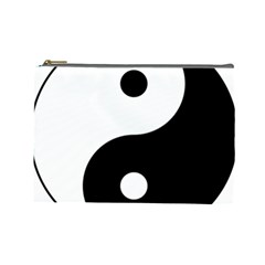 Yin & Yang Cosmetic Bag (large)  by abbeyz71