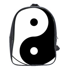 Yin & Yang School Bags (xl)  by abbeyz71