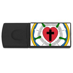 Luther Rose Usb Flash Drive Rectangular (4 Gb) by abbeyz71