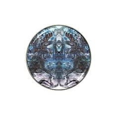 Angel Wings Blue Grunge Texture Hat Clip Ball Marker by CrypticFragmentsDesign